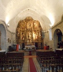 Eglise Sainte-Marie - Català: Interior de Santa Maria de Serrallonga