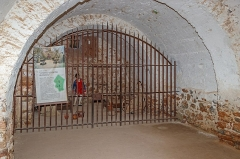 Fort Libéria (également sur commune de Fuilla) - English: Women's prison, Fort Libéria, Villefranche-de-Conflent, Pyrénées-Orientales department, France