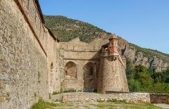 Remparts de la ville - English:   City wall of Villefranche-de-Conflent, Pyrénées-Orientales department, France
