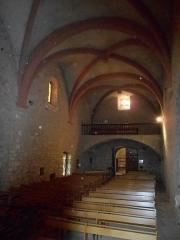 Ermitage Notre-Dame-du-Coral - Català: Interior de l'ermita de Nostra Senyora del Coral