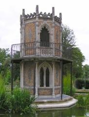 Musée -  Pavillon gothique du jardin public de Cognac, Charente, France