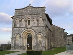 Eglise Saint-Martial - Français:   église de Dirac, Charente, France