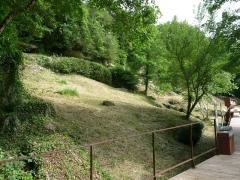 Gisement préhistorique - Français:   Roc de Sers, Charente, France