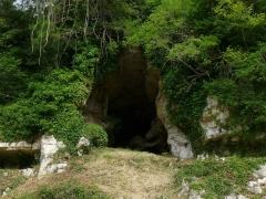 Gisement préhistorique - Français:   Roc de Sers (grotte ouest), Charente, France