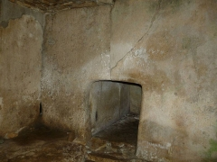 Dolmen dit de la Boixe - English: Dolmen and tumulus in the forest of Boixe, Vervant, Charente, SW France
