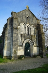 Eglise Saint-Fortunat - Français:   au village.