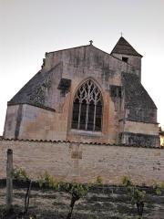 Eglise Saint-Eutrope -  Le Chevet de l'Eglise St Eutrope Agudelle