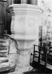 Eglise Saint-Pierre - Deutsch: Kanzel in der Kirche von Les Nouillers