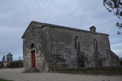 Chapelle Saint-Gilles - Français:   Vue de l\'entrée du musée, du monument et de l\'église st-Martin.