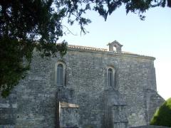 Chapelle Saint-Gilles - Français:   La chapelle Saint-Gilles à Pons (actuel musée archéologique)