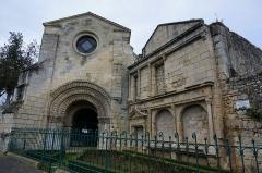 Chapelle Saint-Gilles - Français:   vue de la Chapelle Saint-Gilles (Pons).