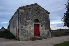 Chapelle Saint-Gilles - Français:   Entrée musée et Chapelle Saint-Gilles (Pons).