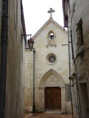 Ancien couvent des Jacobins et ancienne maison de Maurice Martineau, actuellement bibliothèque municipale -  Chapelle Saint-Pierre, Saintes, Poitou-Charentes, France
