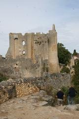 Restes du château - English: The_castle_at_Angles_sur_l'Anglin