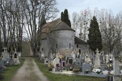 Eglise de Saint-Pierre-les-Eglises - Deutsch: Kirche von Saint-Pierre-les-Églises in Chauvigny im Département Vienne (Nouvelle-Aquitaine/Frankreich)