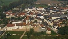 Eglise Notre-Dame -  Vue Est de Lencloître