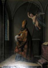 Couvent des Carmes - Français:   Saint Hilaire, peint par Pierre-Floréal Crémière