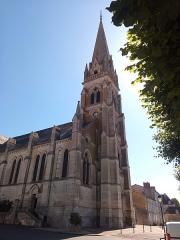 Eglise Saint-Martial - English:   Montmorillon, Saint-Martial Church of Montmorillon.