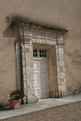 Ancienne abbaye - English: doorway