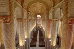 Ancienne église abbatiale - English:   Nef de l\'église abbatiale de Saint-Savin-sur-Gartempe