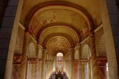 Ancienne église abbatiale - English:   Voutes de la nef de l\'église abbatiale de Saint-Savin-sur-Gartempe