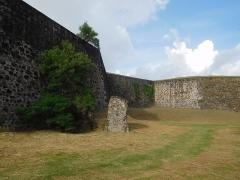 Fort Saint-Charles, Fort Richepance ou Fort Delgrès, puis laboratoire de vulcanologie - Fort Louis Delgrès