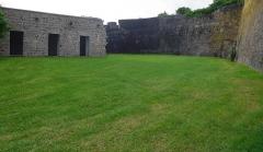 Fort Saint-Charles, Fort Richepance ou Fort Delgrès, puis laboratoire de vulcanologie - Le Fort Louis Delgrès (Cour Bastion de Basse-Terre et Casemate)