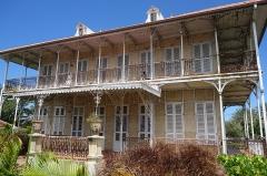 Habitation Zevallos - English: Building of the habitation Zévallos in Guadeloupe
