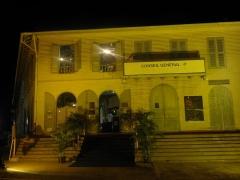 Immeuble Franconie - Français:   Entrée principale du musée lors de la Nuit des musées le samedi 18 mai 2013