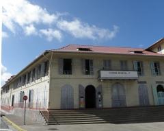 Immeuble Franconie - Français:   Entrée du musée départemental