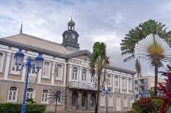 Hôtel de ville - Français:   Martinique - Théâtre de Fort-de-France dans le bâtiment historique de l\'ancien hôtel de ville