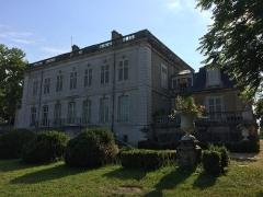 Château de Montaigu - English: Rear of Château de Montaigu in Jarville-la-Malgrange, France in 2018