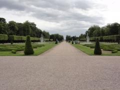 Domaine du château - Château de Lunéville, le parc