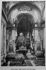 Eglise Notre-Dame-de-Bonsecours - Français:   extrait de la \