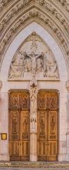 Basilique Saint-Epvre - English: Portal of the Saint Aprus basilica in Nancy, Meurthe-et-Moselle, France