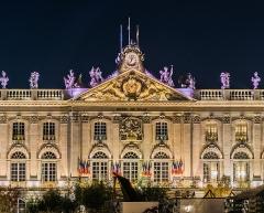 Hôtel de ville - English: City hall of Nancy, Meurthe-et-Moselle, Feance