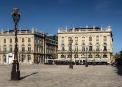Opéra - théâtre -  Grand Hôtel de la Reine de Nancy et Opéra National de Lorraine