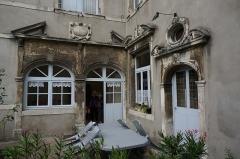 Immeuble - Français:   à pont à mousson la Maison 11 rue Saint-Laurent.