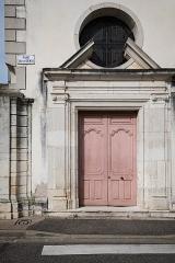 Hospice Saint-Charles - Deutsch: Toul, Hospice Saint-Charles (Heute Krankenhaus). Reste des Wagentors und des Fußgängereingangs
