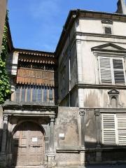 Hôtel de Tavagny - Français:   Vézelise - Hôtel de Tavagny - Portail