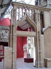 Chapelle des Monts ou la Recevresse -  Galerie des Moulages, Musée des Monuments français, Paris