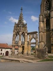 Chapelle des Monts ou la Recevresse - English: The