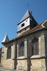 Eglise Saint-Quentin - Deutsch: Katholische Kirche Saint-Quentin in Contrisson im Département Meuse in der Region Grand Est/Frankreich
