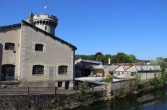 Tour de Luxembourg - Français:   La Compasserie, la Tour Valeran et l\'Ornain