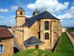 Eglise de la Ville-Haute -  Citadelle de Montmédy church.