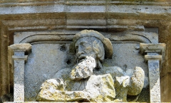Eglise de Rembercourt - Rembercourt-Sommaisne - Façade occidentale - Détail