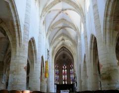 Eglise de Rembercourt - Rembercourt-Sommaisne - Nef