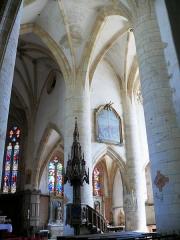 Eglise de Rembercourt - Rembercourt-Sommaisne - Croisée du transept