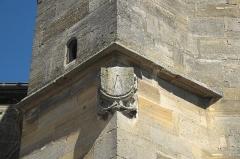 Eglise Saint-Pierre - Deutsch: Kirche Saint-Pierre-et-Saint-Paul in Revigny-sur-Ornain im Département Meuse (Lothringen) in der Region Grand Est/Frankreich, Sonnenuhr mit der Jahreszahl 1637