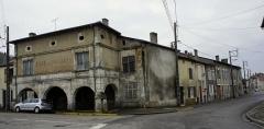 Ancienne abbaye - Le Café des Arcades, à Saint-Mihiel .